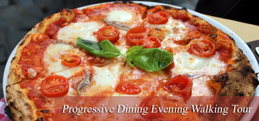 Progressive Dining Rome Tour