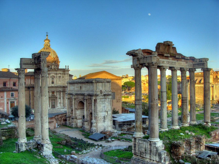 Coliseo Y Recorrido de la Roma Antigua
