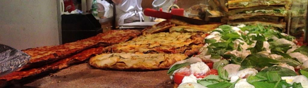Pizza al taglio Food Walking Tours of Rome